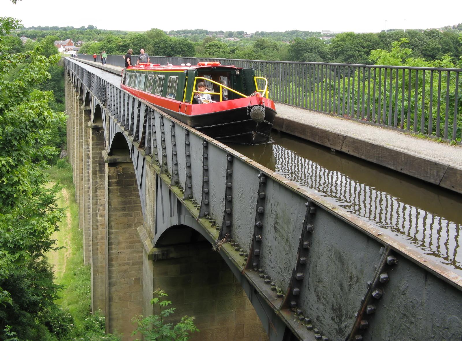 GJW Blog - Narrowboat Route Llangollen Canal