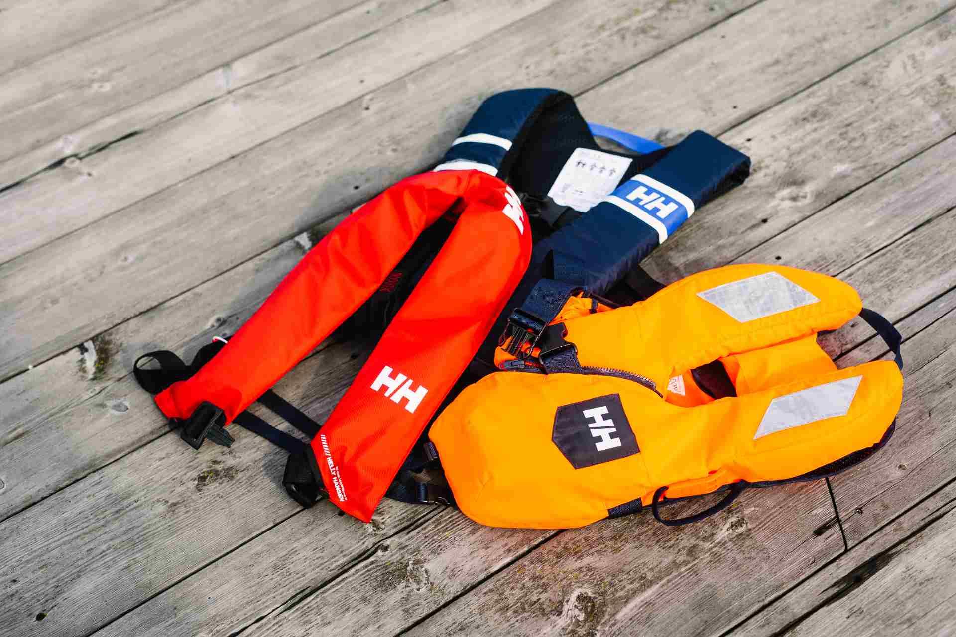 Helly Hansen lifejackets