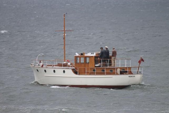 Mimosa_sur_le_tournage_de_Dunkirk