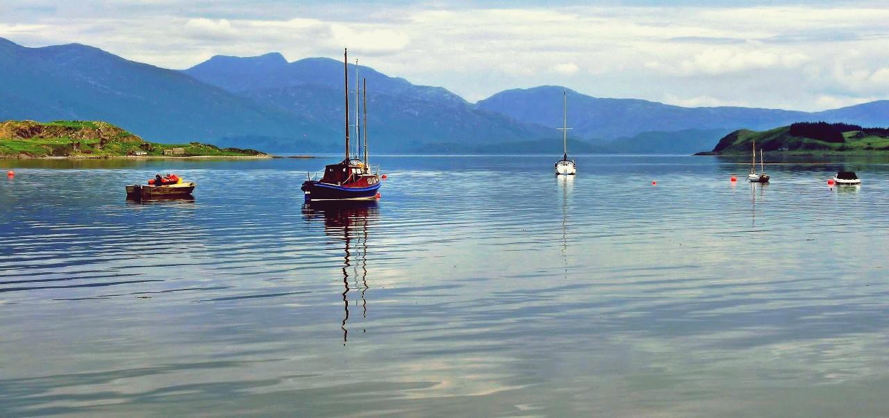 Oban, Scotland coast