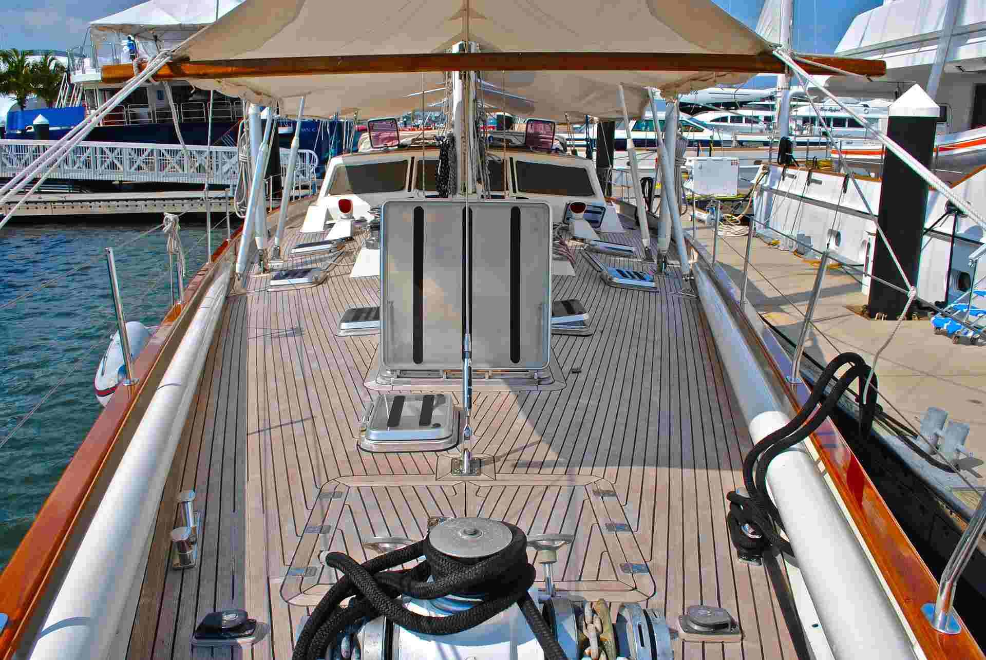 sailing yacht deck