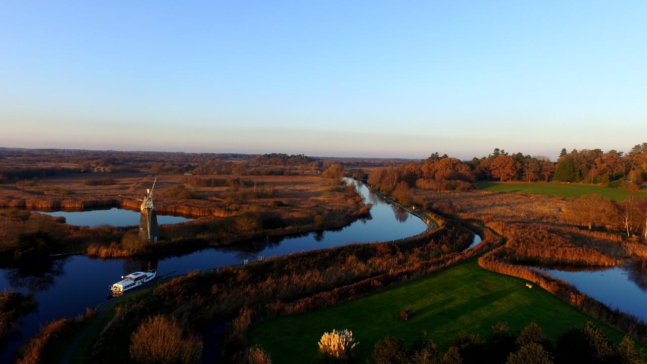 waterways at Norfolk Broads