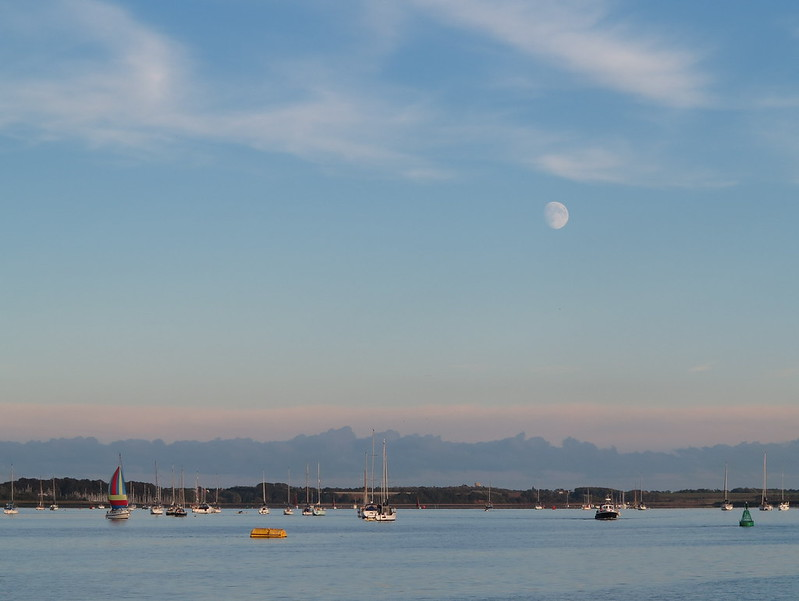 view from orwell yacht club