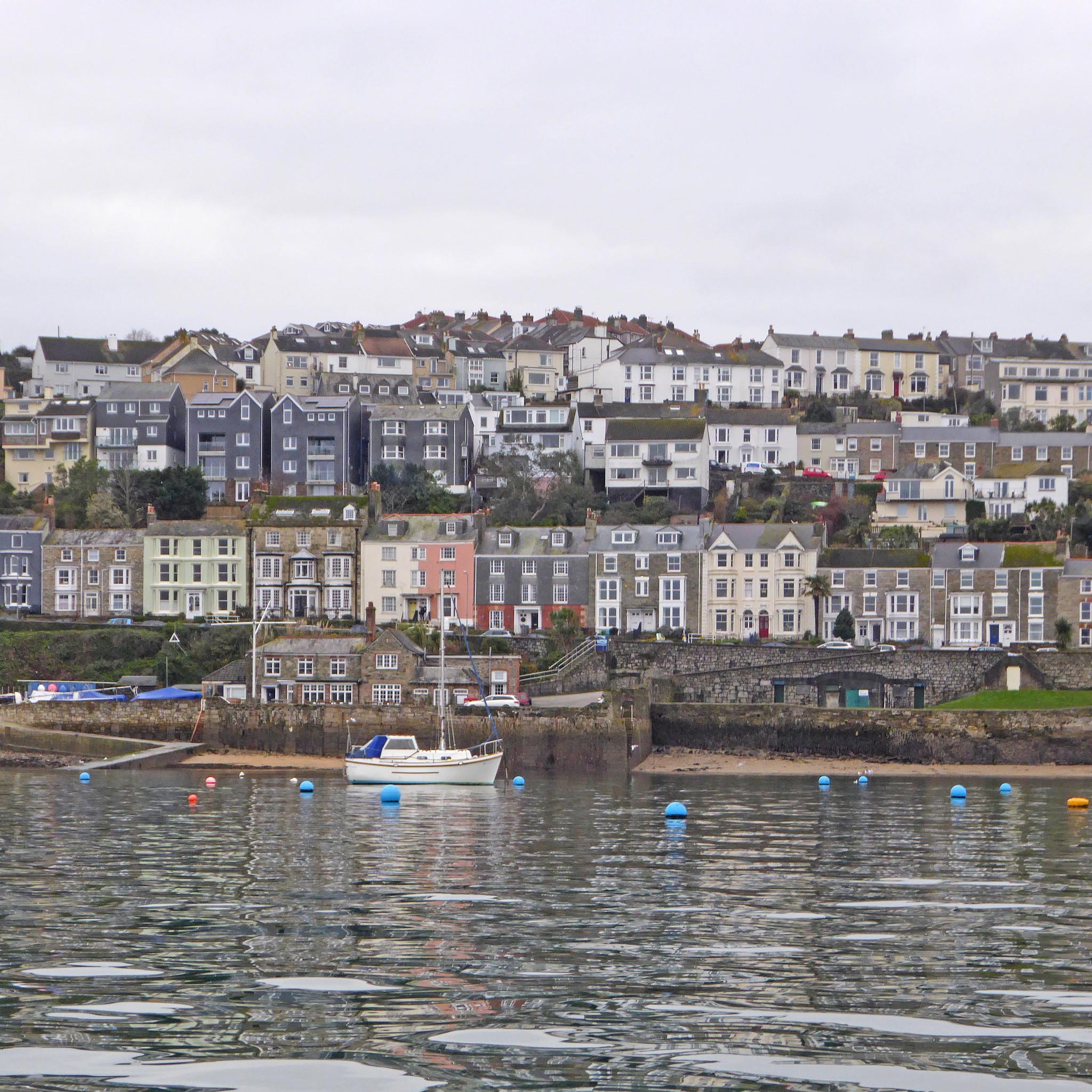view of Cornwall coast